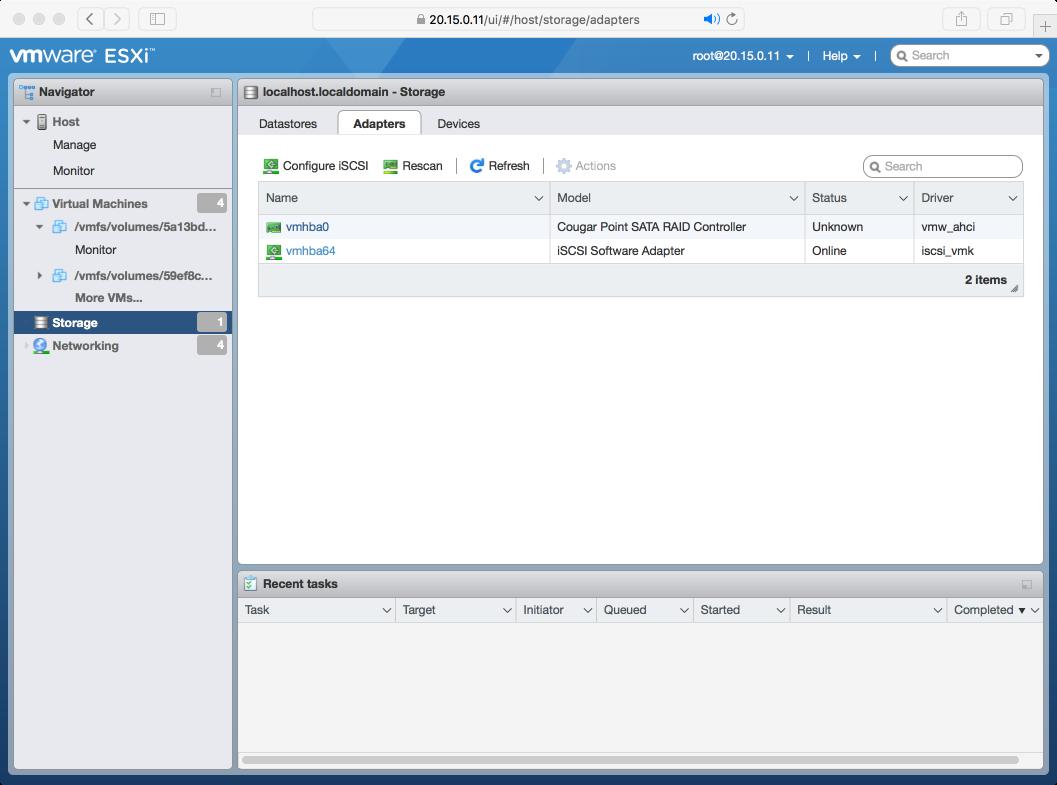 iSCSI Initiator for VMware ESX — Ceph Documentation